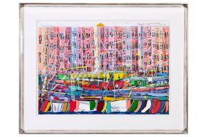Michael Godjevae Ölgemälde St. Tropez 1999-2001