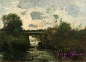 C. Albrecht Öl auf Karton 38 x 54 cm
