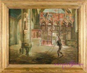 Arthur Midy 1887-1944 Öl auf Karton 40 x 30 cm
