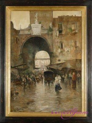 Carlo Rinaldo Öl auf Leinwand 45 x 60 cm