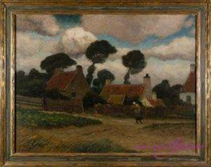Eugen Kampf 1861-1933 Öl auf Leinwand 80 x 62 cm