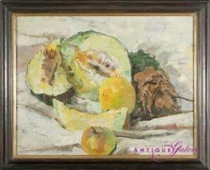 Ewald Jorzig 1905-1983 Öl auf Holz 54 x 42 cm
