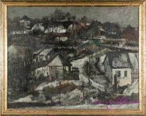 Ewald Jorzig 1905-1983 Öl auf Leinwand 62 x 52 cm