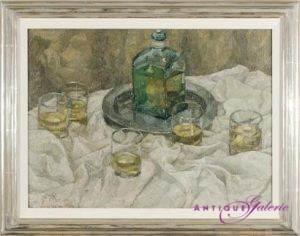 Franz Pregen Öl auf Leinwand 56 x 42 cm