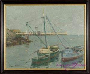 Georg Hambüchen 1901-1971 Öl auf Leinwand 40 x 50 cm