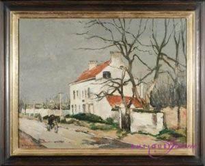 Georg Hambüchen 1901-1971 Öl auf Karton 58 x 45 cm