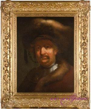 Rembrand Kopie frühes 18. Jahrhundert Öl auf Leinwand
