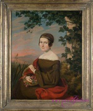 Maler unbekannt Öl auf Leinwand 37 x 30 cm