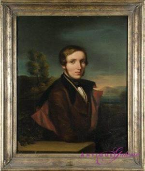 Maler unbekannt Öl auf Leinwand 37x30