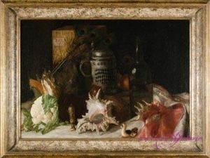 Maler unbekannt Öl auf Leinwand 45 x 67 cm