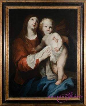 Maler unbekannt Öl auf Leinwand 80 x 100 cm