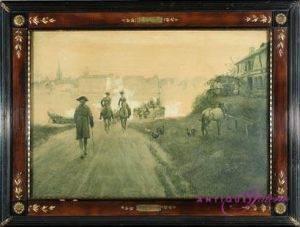 Wilhelm Schreuer 1866-1933 Öl auf Papier 45 x 67 cm