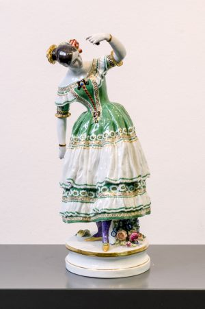 Meissen Figur Höhe 36 cm Fanny Elssler