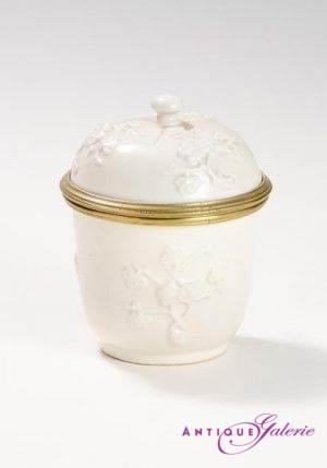 Zuckerdose Chantilly um 1745
