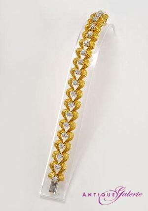 Armbanduhr 18 Karat Gold mit Brillant (Nr.5)