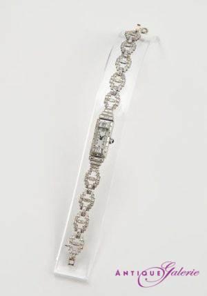 Armbanduhr 18 Karat Gold mit Brillant (Nr.1)