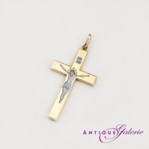 Kreuz Email 19. Jahrhundert