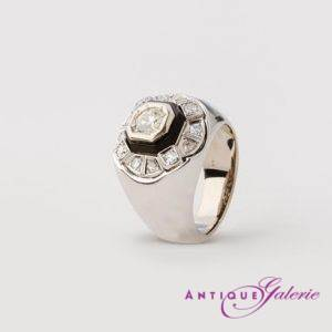 Ring mit Diamant 14 Karat Gold