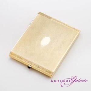 Zigaretten-Etui 18 Karat Gold (Nr.1)