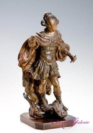 Holz gefasst 17. Jahrhundert (Nr.3)