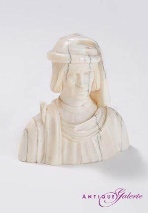 Elfenbein Lorenzo de Medici il Magnifico