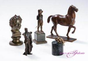 Auswahl Bronzen