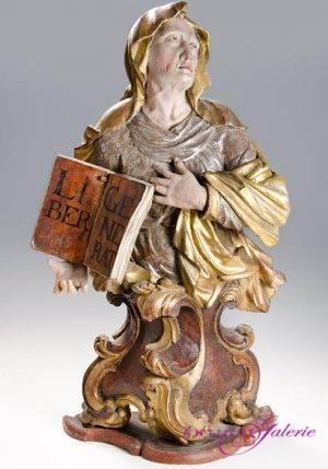 Holz gefasst 17. Jahrhundert