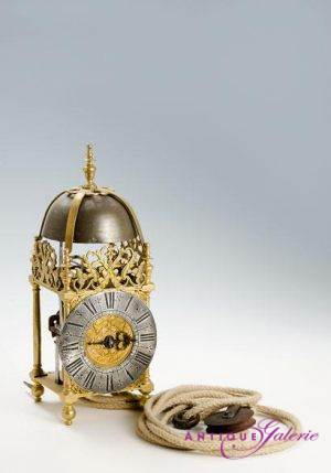 Laternen-Uhr 17. Jahrhundert Frankreich / Lille