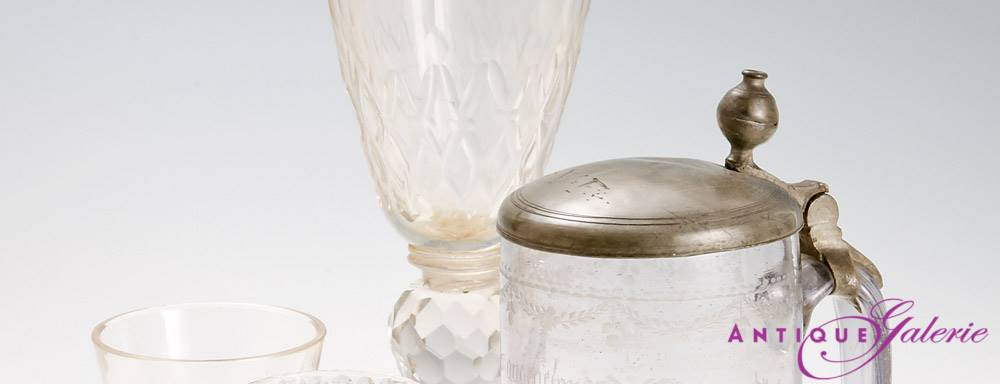 Von Kutschergläsern bis hin zu Karaffen - Antiquitäten