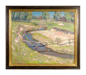 Abraham Neumann 1873 – 1942 Zakopane im Sommer 80 x 66 cm Öl auf Leinwand