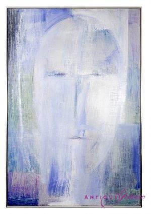Dalip Kryeziu geb.1964 Budavu Öl/Leinwand 170 x 255 cm