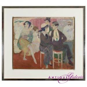 Otto Aloys Xaver Weber Paris 1895-1967 Öl auf Holz 45 x 36 cm