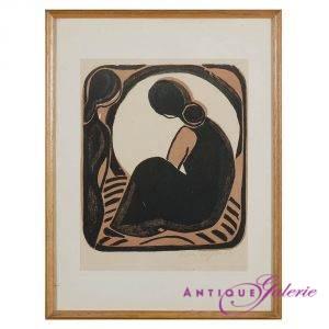 Peter Royen 1923-1978 Holzschnitt 21 x 29 cm