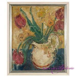 Maler unbekannt Öl auf Holz 30 x 22 cm