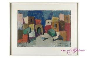 Maler unbekannt Öl auf Leinwand 47 x 70 cm