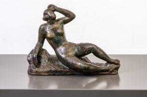 Arno Breker 1900 – 1991 Aurora Bronze 22 x 16 x 9 cm