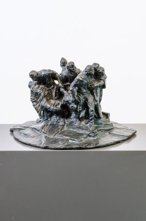 Bert Gerresheim Bronze Josef Denkmal