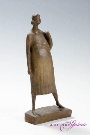 Bronze die Schwangere von Gerhard Marcks