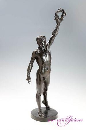 Bronze der Sieger von H. Baucker